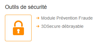 3DSecure débrayable pour Monetico