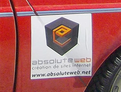 ABSOLUTE Web sponsor des 4L des airs