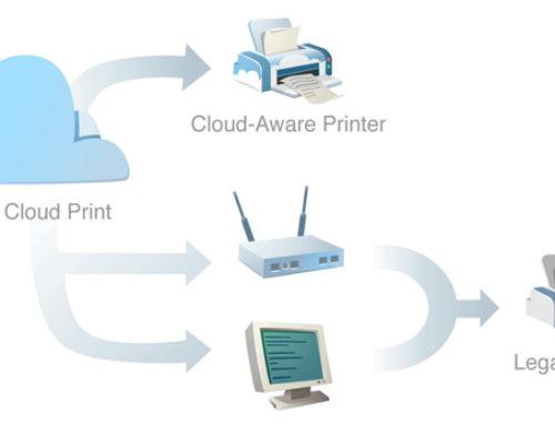 Google Cloud Print, imprimez dans les nuages ou presque…