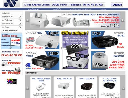 Refonte De La Home Page Boutique Avance Vido HD