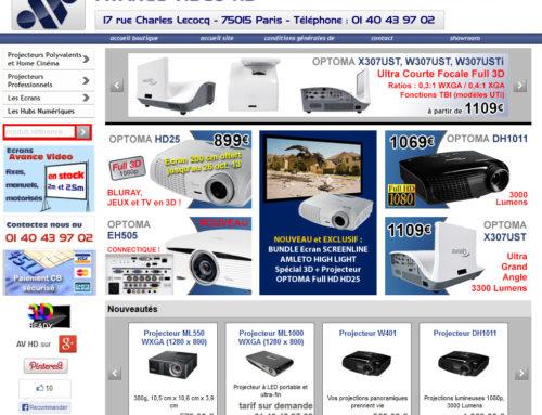 Boutique Avance Vidéo HD