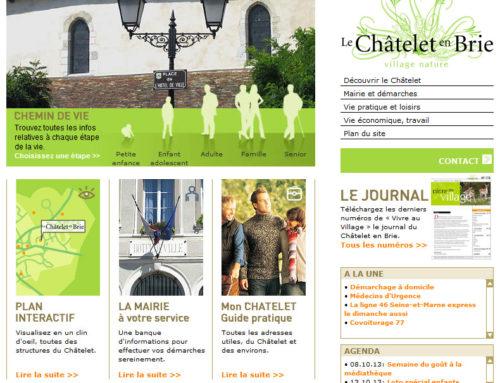 Mairie du Châtelet en Brie