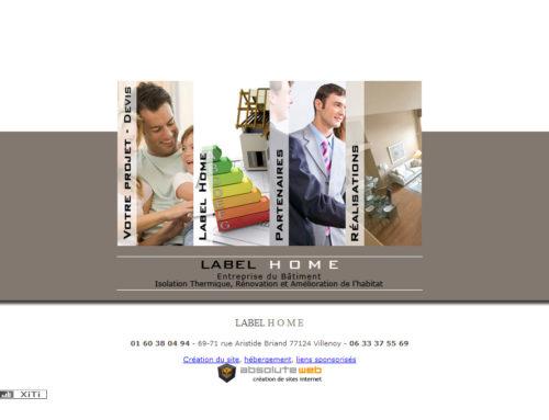Label Home