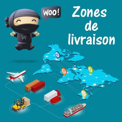 Les zones de livraison dans WooCommerce 2.6